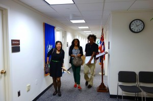 Leaving Sen. Ted Cruz's office...we did the best we could!