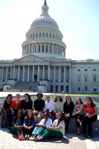 The group at the Capitol!