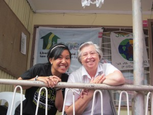 Sr. T and I in the Philippines!